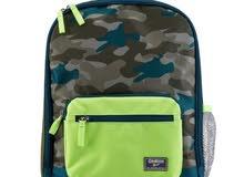 حقيبة مدرسية ماركة امريكية مع حقيبة الافطار