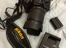 كاميرا نيكون 7100d