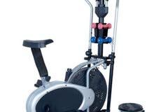 Orbitrac with Dumbbell & Twister دراجة اوربيتراك مع الاثقال و التويستر مطور