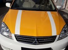 مطلوب سيارة تدريب سواقة نوع ميتسوبيشي لانسر 1600 سي سي موديل 2010 او اكثر