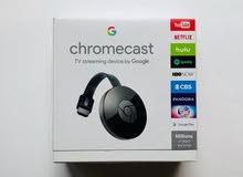 chromecast - جهاز عرض الموبايل على التلفاز لاسلكيا