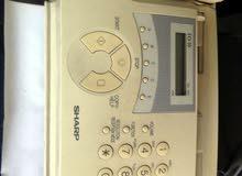 هاتف ارضي + فاكس نوع شارب الياباني - SHARP