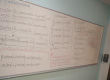مدرس خصوصي لمادة الرياضيات.