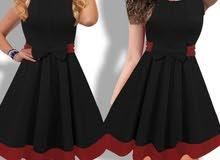 فستان باربي قماش قطن باربي