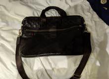 Gucci laptop bag for men (original)  شنطة قوتشي اصلي للاب توب.