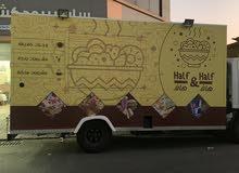 مطعم فود ترك للضمان  food truck for rent