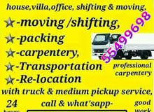 good price moving shifting carpenter pick up transporting delivery and labour