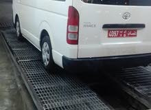 White Toyota Hiace 2012 for rent