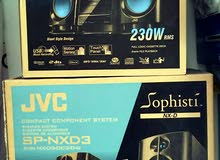 JVC Sophisti - Compact Component System + Speakers System