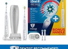 فرشاة أورال بي الإلكترونية بتقنية البلوتوث oral-B electronic brush