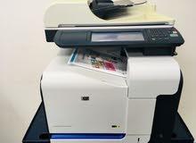 Printer MFP HP 3530- طابعة الوان ليزر4*1