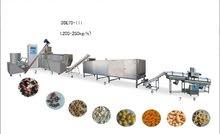للبيع مصنع لانتاج شيبس الذرة - البفك / Puff Corn chips factory for sale