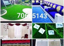we have good quality of carpet, vinyl, Artificial grass