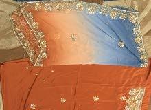 لبسات هنديه راقيه للبيع بسعر 10 ريال ( الوحده)وفستان مستخدم مره وحده ب20 ريال