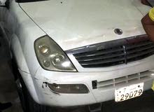 Automatic White SsangYong 2006 for sale
