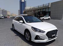 Hyundai Sonata 2018 (White)