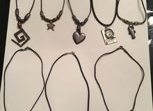 Brand new silver necklaces