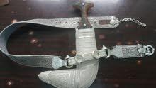 خنجر بقرن زراف افريقي للبيع
