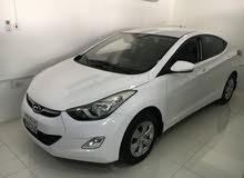 Hyundai Elantra 2014 (white)