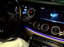 للبيع مرسيدس بنز E400 AMG موديل 2018 مسرفس وجاهز وسعره مناسب