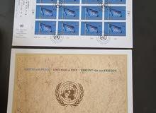 Memorial FDC and folder for united of peace Nobel Prize winner 2001