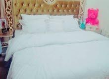 سرير +2كمودينو بالخوض السادسة 80ريال