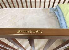 baby wooden crib &mattress/ brand:juniors