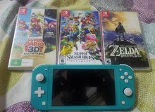 Nintendo switch blue color like new no scrach