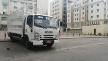شاحنة 4 طن للتحميل من مسقط إلى جميع أنحاء السلطنه مع وجود عمال ونجار لفك وتركيب
