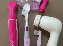 مكينه ازالة شعر ومكينه تنظيف بشره