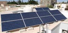 فني تركيب منظومات الطاقة الشمسية باحت عن عمل