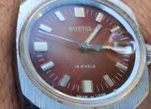 ساعة روسية موديل قديم جدا ماركة فوستك