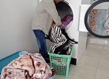 مغسلة ملابس بخارية متكاملة للبيع لعدم التفرغ للمتابعة.