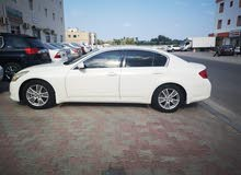 Infiniti G37 car for sale 2013 in Seeb city