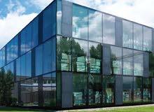 تصميم وتركيب وتشطيب  واجهات المباني - زجاج الومنيوم كوبست - مهندس خبرة 15سنة