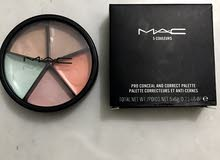 Pro conceal and correct palette from Mac five colors