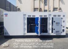 800KVA USA Made Perkins Generators - New 2018