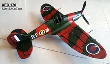 مجسمات لطائرات وسيارات حديديه معتقة مصنوعة يدويا