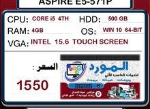 لابتوب ايسر ACER ASPIRE E5-571P مستعمل للبيع