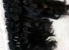 شعر هندي طبيعي 100 % مكفول  بسعر الجملة