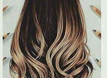عندي شعر طبيعي خصلات اللي جاد