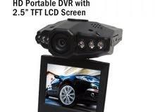 كاميرا تصوير فيديو وعادي للسيارة