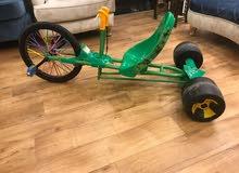 دراجة بي ام اكس ثلاثية العجلات