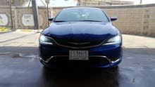 Blue Chrysler 200 2015 for sale