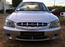 Silver Hyundai Accent 2002 for sale