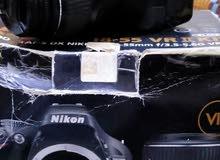كاميرا نيكون 5200 بسعر حلو