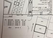 ارض سكنية 619م في بركاء السوادي جنوب الاولى قريبة من الشارع العام