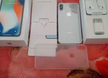 IPhone X silver 64gb like new