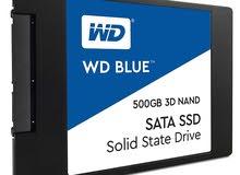 """WD Blue 3D NAND 500GB PC SSD - SATA III 6 Gb/s, 2.5""""/7mm"""