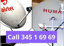 cctv camera and satellite dish fixing